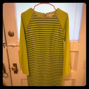 Green Michael Kors Zip Dress Size 4